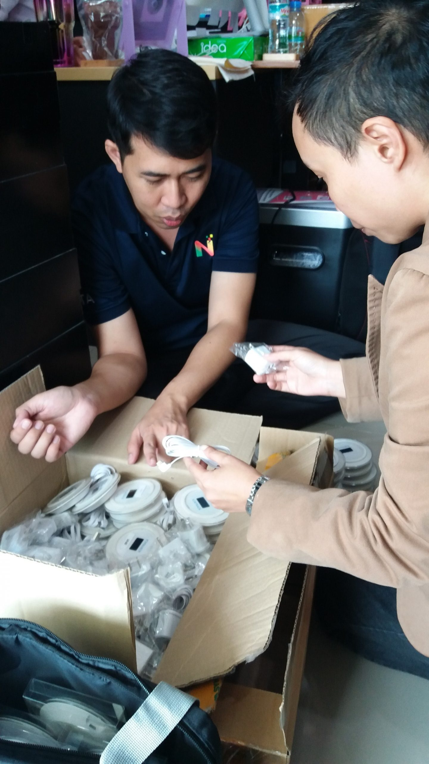 ส่งมอบอุปกรณ์ XENTRACK และสอนวิธีใช้งาน NEXTECH ASIA
