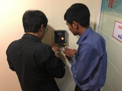 งานติดตั้งระบบ XENTRY and ACCESS CONTROL ที่ CP TOWER